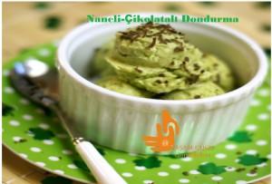Naneli Çikolatalı Dondurma